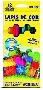 Lapis de cor Acrilex 12 cores