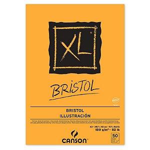 Papel Bristol XL Canson 50 folhas