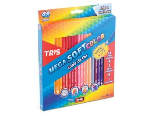 Lapis de cor Mega Soft Color Tris 48 cores