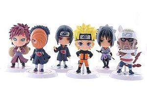 Coleção Naruto 6 peças 7cm