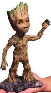Estátua Baby Groot: Guardiões da Galáxia Vol. 2