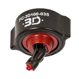 Bico de Pulverização HYPRO 3D Conjunto Completo (Vinho) | FC-3D100-035