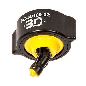 Bico de Pulverização HYPRO 3D Conjunto Completo (Amarelo) | FC-3D100-02