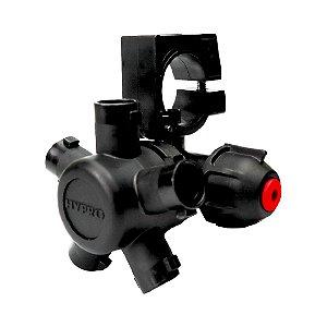 Porta Bicos HYPRO 5 Vias 25mm Barra Úmida EPDM | 4223N-B528