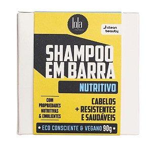 SHAMPOO EM BARRA NUTRITIVO 90g