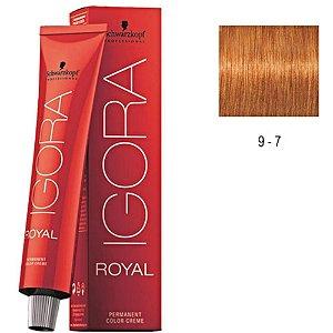 COLORACAO IGORA ROYAL 9-7 60G