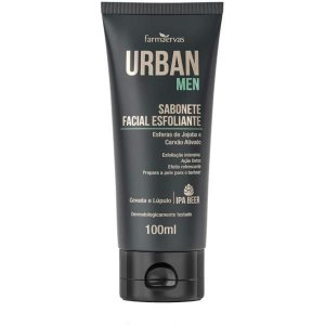 SABONETE FAC ESFOLIANTE URBAN MEN 100ML