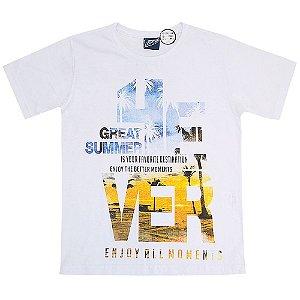 Camiseta Malha Great Summer - Passagem Secreta
