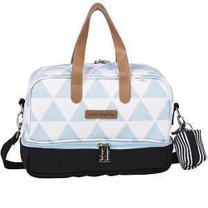 Frasqueira Térmica Vicky Manhattan Azul - Masterbag Baby
