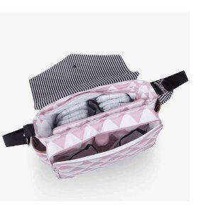 Bolsa Maternidade Momi Manhattan Rosa - Masterbag Baby