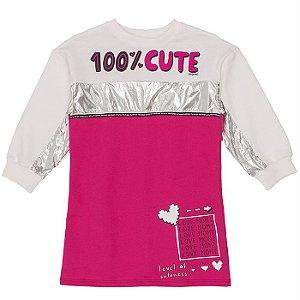 Vestido Infantil Feminino Cute - Momi