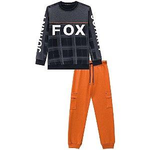 Conjunto Infantil Masculino Fox - Johnny Fox