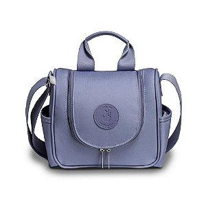 Frasqueira Maternidade Emy Fauna Azul - Masterbag Baby