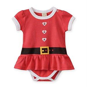 Body Vestido Infantil Feminino Noel - Pingo Lelê