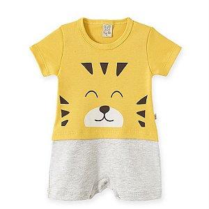Macacão Infantil Masculino Tiger - Pingo Lelê