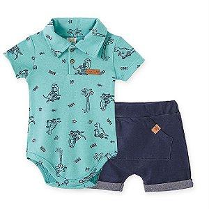 Conjunto Infantil Masculino Dino - Pingo Lelê