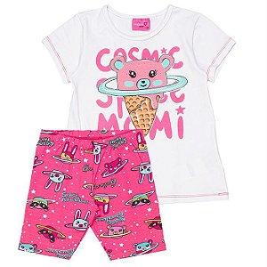 Conjunto Infantil Feminino Cosmic - Momi