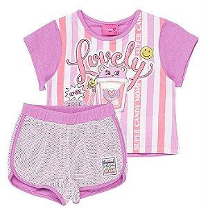 Conjunto Infantil Feminino Lovely - Momi