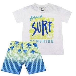 Conjunto Infantil Masculino Surf  -  Passagem Secreta