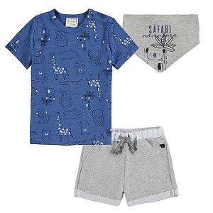 Conjunto Infantil Masculino Safari - Luc.Boo