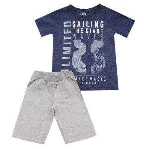 Conjunto Infantil Masculino Sailing - Passagem Secreta