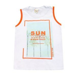 Camiseta Infantil Masculino Regata Sun - Have Fun