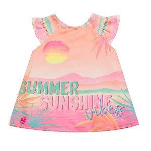 Vestido Infantil Feminino Summer - Mon Sucré