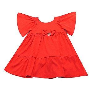 Vestido Infantil Feminino Red - Mon Sucré