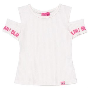 Blusa Infantil Feminino Blah! - Momi