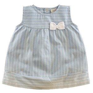 Vestido Infantil Feminino Listras - Tilly Baby