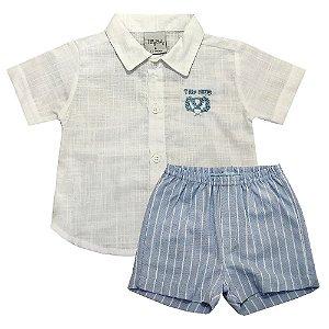 Conjunto Infantil Masculino Listras - Tilly Baby