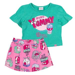 Conjunto Infantil Feminino Yummy - Momi