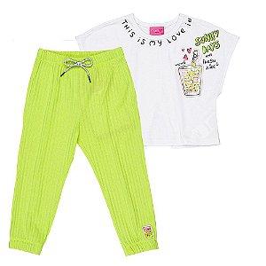Conjunto Infantil Feminino Limonada - Momi