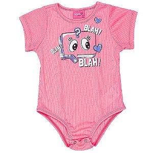 Body Infantil Feminino Olhinhos - Momi