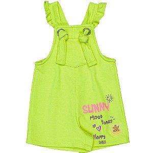 Jardineira Infantil Feminino Sunny - Momi