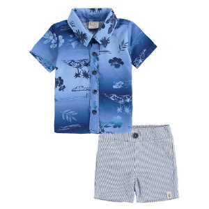 Conjunto Infantil Masculino Tropical - Luc.Boo