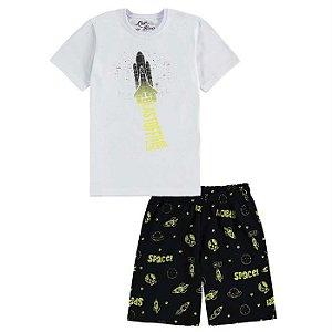 Pijama Infantil Masculino Space - Luc.Boo
