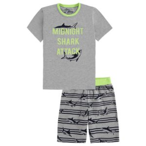 Pijama Infantil Masculino Tubarão - Luc.Boo
