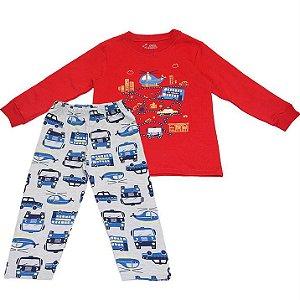 Pijama Infantil Masculino City - Have Fun