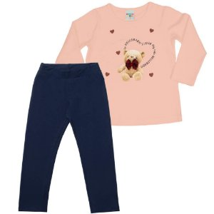 Conjunto Infantil Feminino Bear - Have Fun