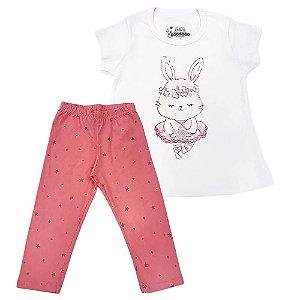 Pijama Malha Coelha Bailarina - Have Fun