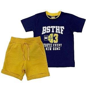 Conjunto Camiseta Basquete e Bermuda - Have Fun