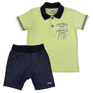 Conjunto Camiseta Polo e Bermuda - Have Fun