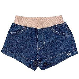 Shorts Jeans Retilínea - Have Fun