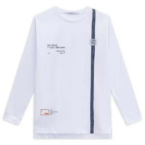 Camiseta Infantil Masculina Believe in Your Dreams - Johnny Fox