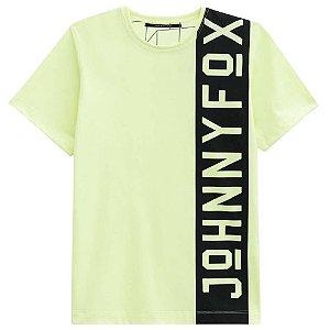 Camiseta Malha Neon - Johnny Fox