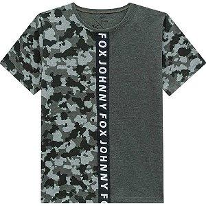 Camiseta Malha Camuflada - Johnny Fox