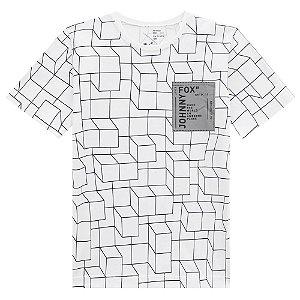 Camiseta Malha Cubos - Johnny Fox
