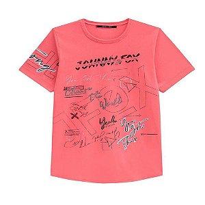 Camiseta Malha com Silk - Johnny Fox