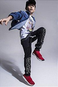 Calça Infantil Masculino Moletom GMR AE - Johnny Fox